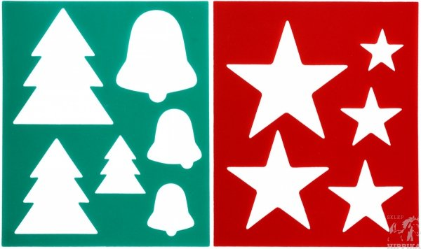 Szablon do zaczesywania QHP Christmas
