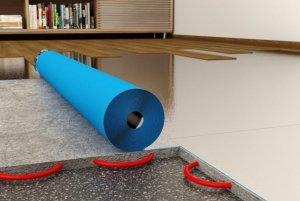 POLI-ECO ALUFLOOR PROTECT 3w1 podkład pod panele 10m2 2mm