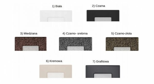 Kratka kominkowa 11x24 - 7 kolorów