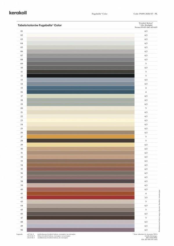 KERAKOLL Fugabella Color Fuga 3 kg Kolor 14