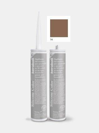 KERAKOLL Fugabella Color Silikon 310ml Kolor 34