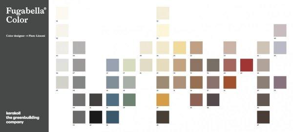 KERAKOLL Fugabella Color Fuga 3 kg Kolor 40