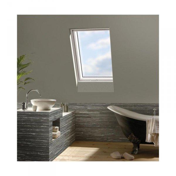 KOMPLET: Okno dachowe OPTILIGHT 66x118 TLP łazienkowe + KOŁNIERZ