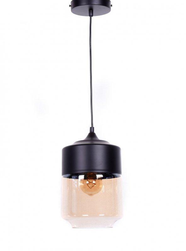 LAMPA WISZĄCA LOFT INDUSTRIALNA CZARNA ASTILA Lampy
