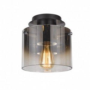 ITALUX JAVIER MX17076-1A BK LAMPA PLAFON NOWOCZESNY SZKLANY CZARNY