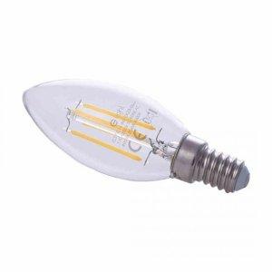 Żarówka Filamentowa LED 4W Świeczka E14 4000K