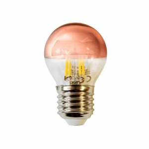 Żarówka Filamentowa LED 4W G45 E27 GOLDEN ROSE