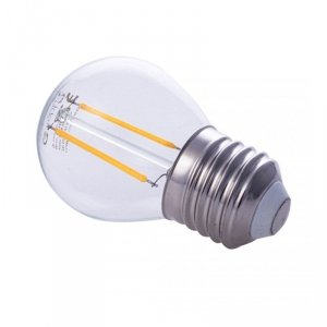 Żarówka Filamentowa LED 2W E27 G45 2700K