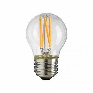 Żarówka Filamentowa LED 6W G45 E27 2700K