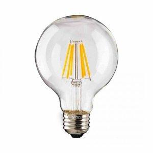 Żarówka Filamentowa LED 7W Kulka E27 4000k