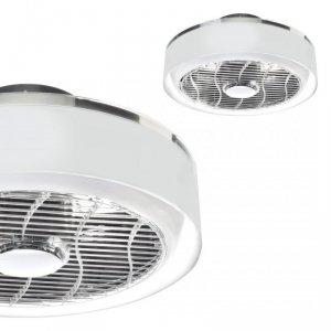 Plafoniera LED MISTRAL 45W z wentylatorem klosz transparentny