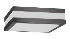 LAMPA SUFITOWA PLAFON ZEWNĘTRZNY ANTRACYT NA TARAS RABALUX 8685 STUTTGART