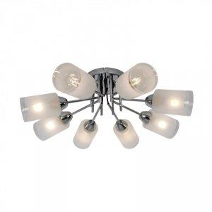 CL20007-8 MEDA LAMPA SUFITOWA CHROM&BIAŁY/CHROME&WHITE