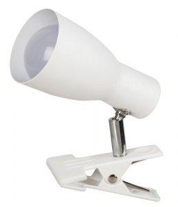 LAMPKA NA KLIPS DO BLATU BIAŁA RABALUX 6026 EBONY