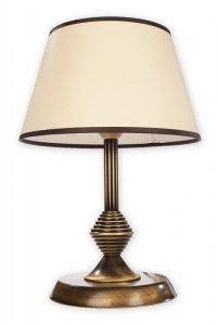 Maxim lampka stołowa mała 1 pł. / patyna