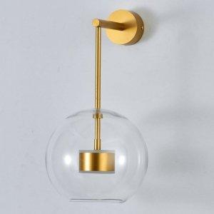 Lampa ścienna BUBBLES -1WL LED złota 3000 K