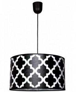 Lampa abażur abstrakcyjne wzory - GERO 1950/1/Z