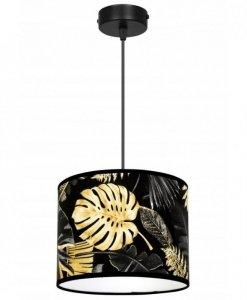 Lampa abażur wzór kwiaty - GOLD FLOWERS 2300/1/20