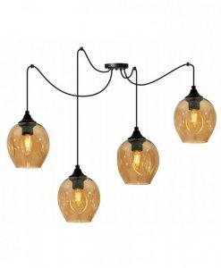 Lampa wisząca regulowana - SPIDER PRAGA 2235/4