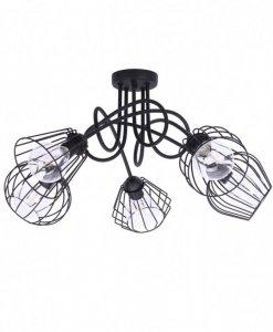 Lampa 5-płomienna LOFT Industrialna - Edison 1427/5
