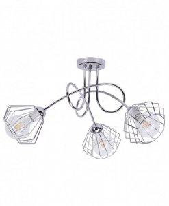 Lampa 3-płomienna LOFT Industrialna - Edison 1428/3