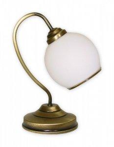 LAMPKA STOŁOWA KLASYCZNA PATYNA LEMIR KORAL 338L1