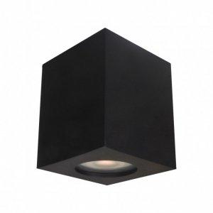 ITALUX FABRYCIO IT8003S1-BK LAMPA OPRAWA NATYNKOWA NOWOCZESNA KWADRATOWA CZARNA