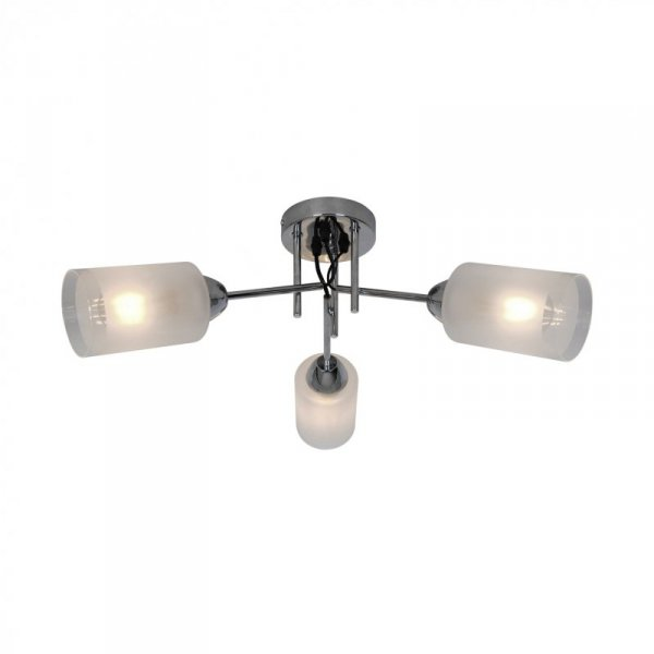 CL20007-3 MEDA LAMPA SUFITOWA CHROM&BIAŁY/CHROME&WHITE