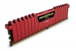 Pamięć DDR4 Corsair Vengeance LPX 16GB (2x8GB) 2666MHz CL16 1,2V Red