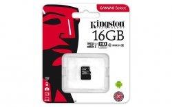 Karta pamięci Kingston microSDHC Canvas Select 16GB UHS-I Class 10