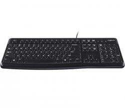 Klawiatura przewodowa Logitech K120 OEM for Business czarna