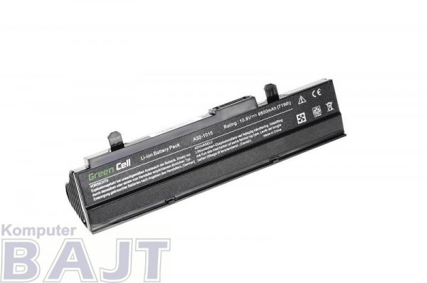 Bateria Green Cell do Asus EEE PC A32 1015 1016 VX6 9 cell 11,1V