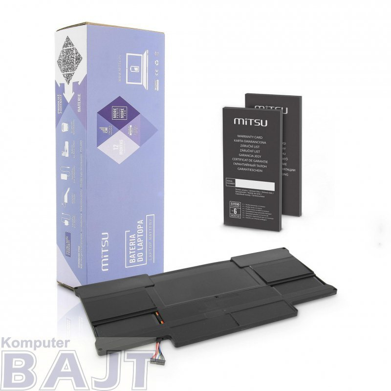 "Bateria Mitsu do notebooka Apple MacBook Air 13"" - A1377"