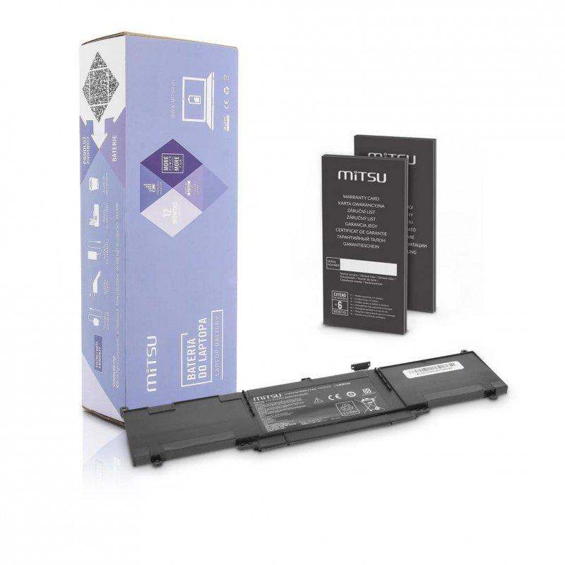 Bateria Mitsu do notebooka Asus Zenbook UX303L, TP300L