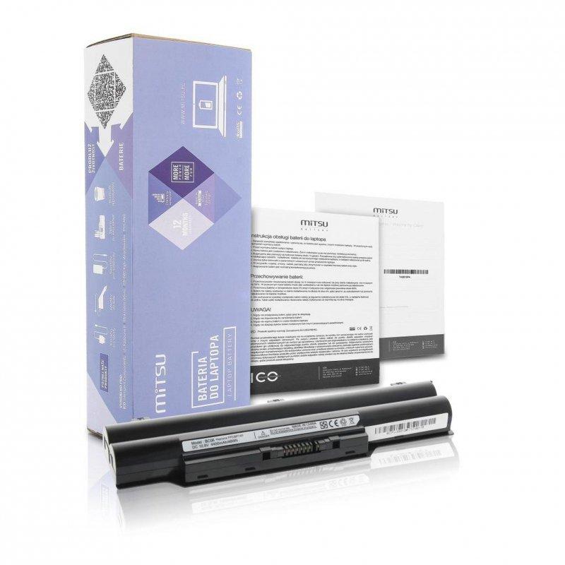 Bateria Mitsu do notebooka Fujitsu E8310, S7110 (10.8V-11.1V) (4400 mAh)