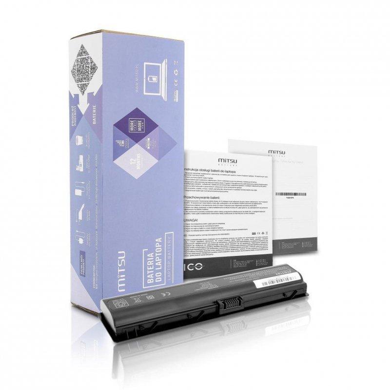 Bateria Mitsu do notebooka HP dv2000, dv6000