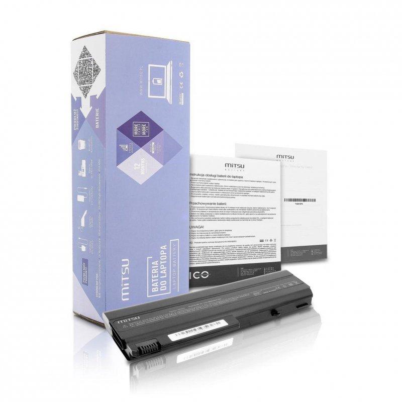 Bateria Mitsu do notebooka HP nc6100, nx6120 (10.8V-11.1V) (6600 mAh)