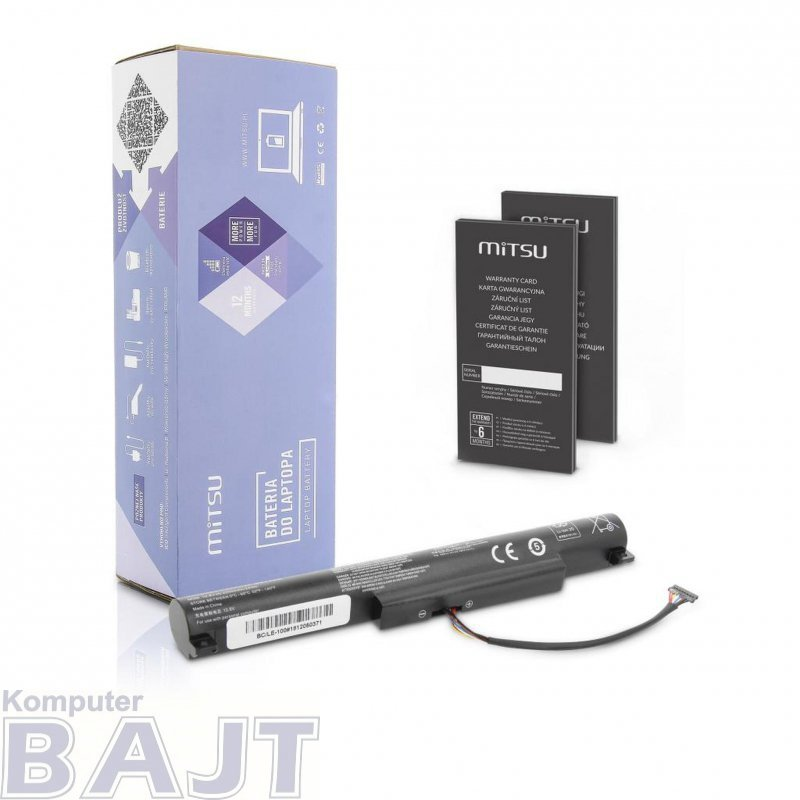 Bateria Mitsu do notebooka Lenovo IdeaPad 100-15IBY
