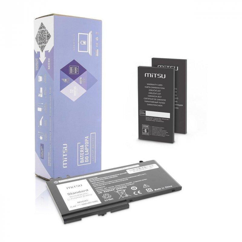 Bateria Mitsu do notebooka Dell Latitude E5250, E5270