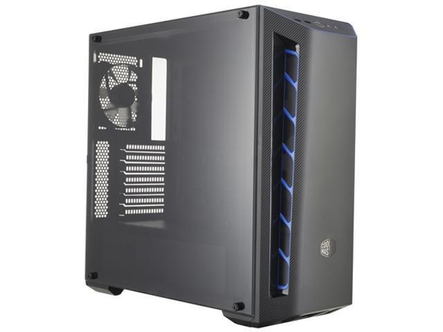Obudowa Cooler Master MasterBox MB510L Midi Tower czarno-niebieska z oknem