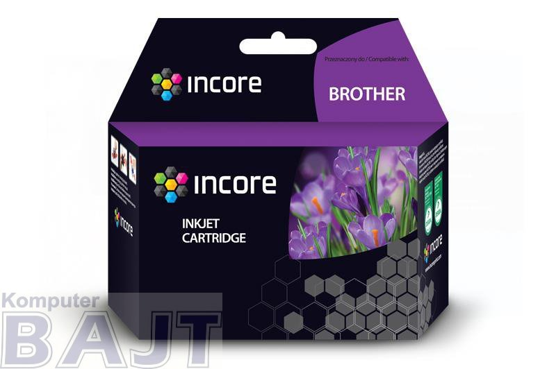 Tusz INCORE do Brother (LC123BK) Black 22 ml