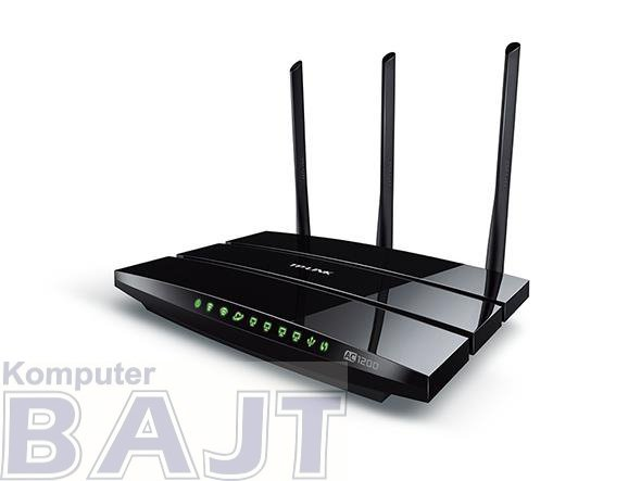 Router TP-Link Archer C1200 Wi-Fi AC1200 Dual 4xLAN 1xWAN 1xUSB