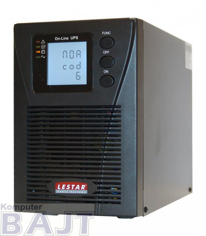 Zasilacz awaryjny UPS Lestar MEP II - 1000P 1000VA/900W On-Line LCD 3XIEC