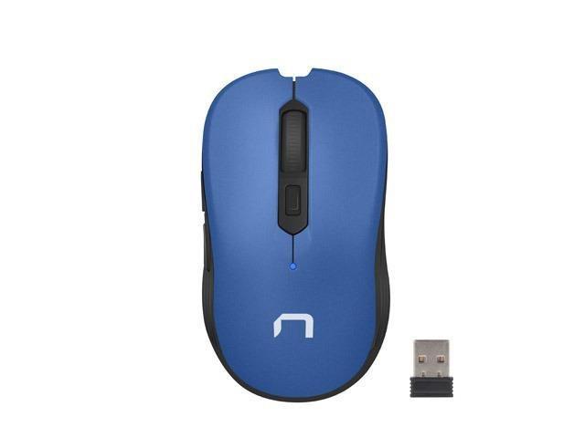 Mysz bezprzewodowa Natec Robin optyczna 1600 DPI niebieska