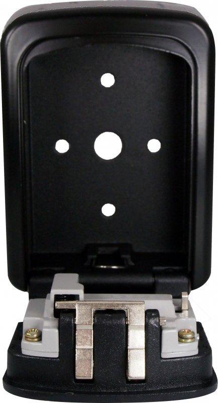 Sejf na klucze IBOX ISNK-03BLACK (90mm x 120mm x 35 mm)