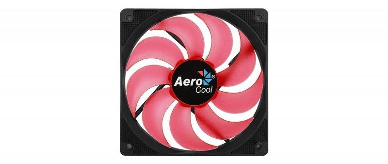 Wentylator do obudowy Aerocool MOTION 12 AEROMOTION-12PLUSRED (120 mm; 1200 obr/min; Czerwony)