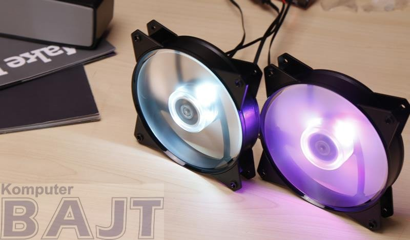 Wentylator Cooler Master Masterfan 120r RGB R4-C1DS-12FC-R2 (120 mm; 1200 obr/min; RGB)