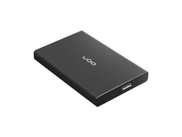 """Obudowa na dysk UGO Marapi SL130 UKZ-1531 (2.5""""; Micro USB 3.0; Poliwęglan ABS; kolor czarny)"""