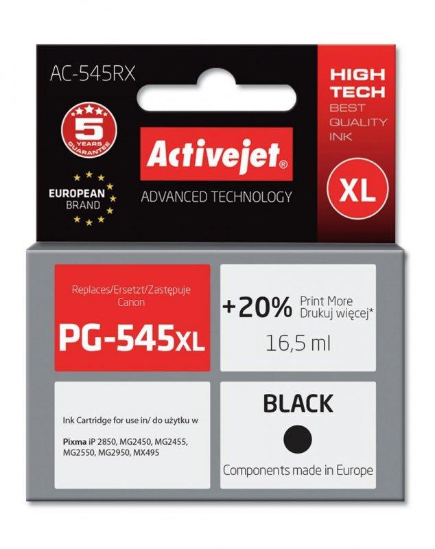 Tusz Activejet AC-545RX (zamiennik Canon PG-545XL; Premium; 15 ml; czarny)