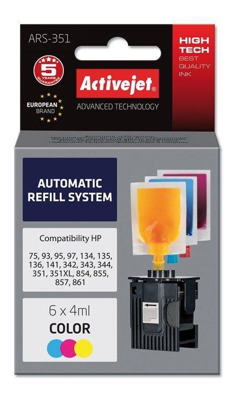 Tusz Activejet ARS-351 (zamiennik ; 6 x 4 ml; kolor)